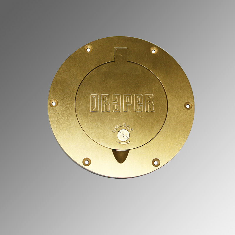 Locking Brass Cover Plate Assembly 501035 Draper Inc