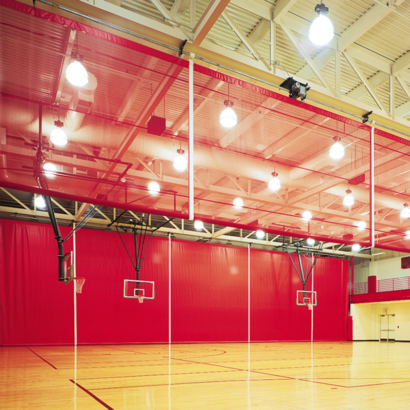 Gym divider curtains canada