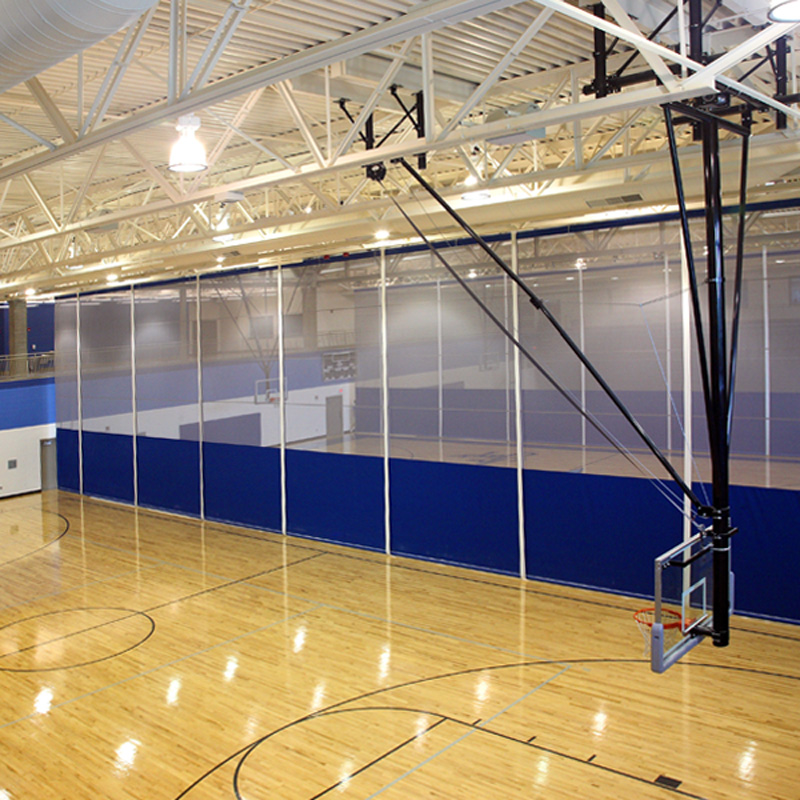 Roll Up Gym Divider Curtains Draper Inc