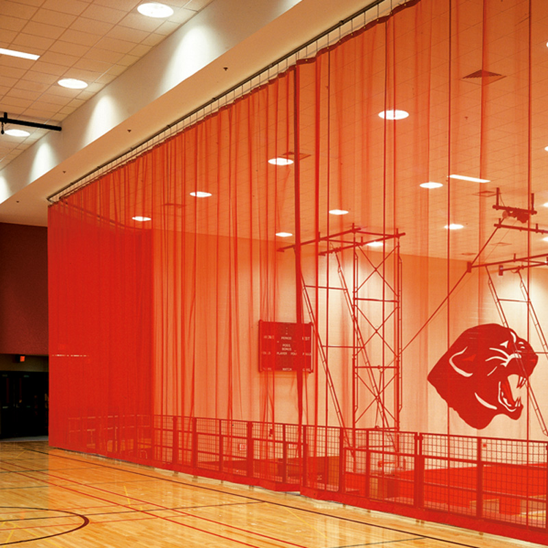Gym divider curtain weight menzilperde