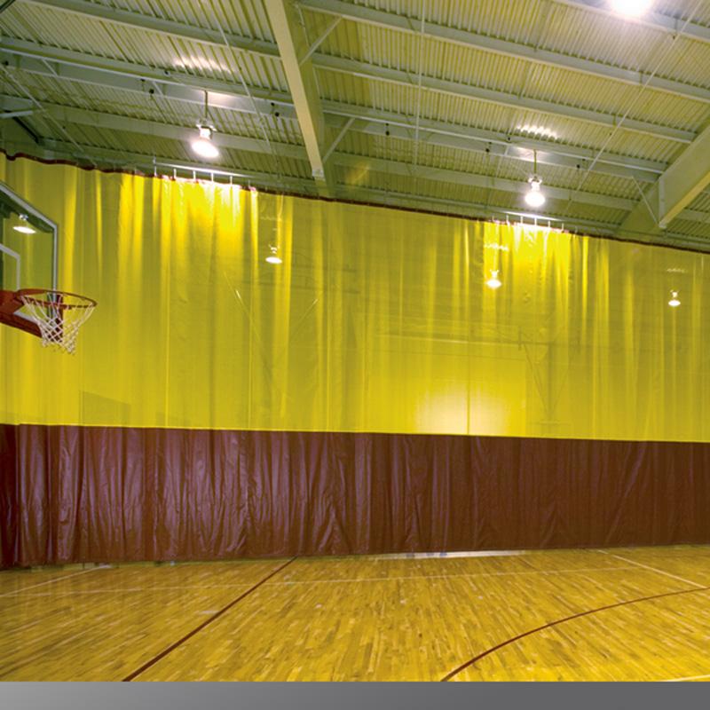 Walk Draw Gym Divider Curtains Draper Inc