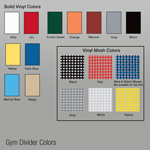 Fold-Up Gym Divider  Curtains