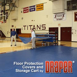 Gym Floor Covers and Carts