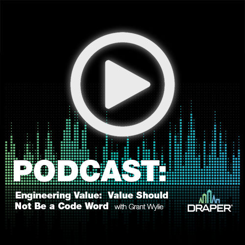 Engineering Value Podcast - Value should not be a code word.