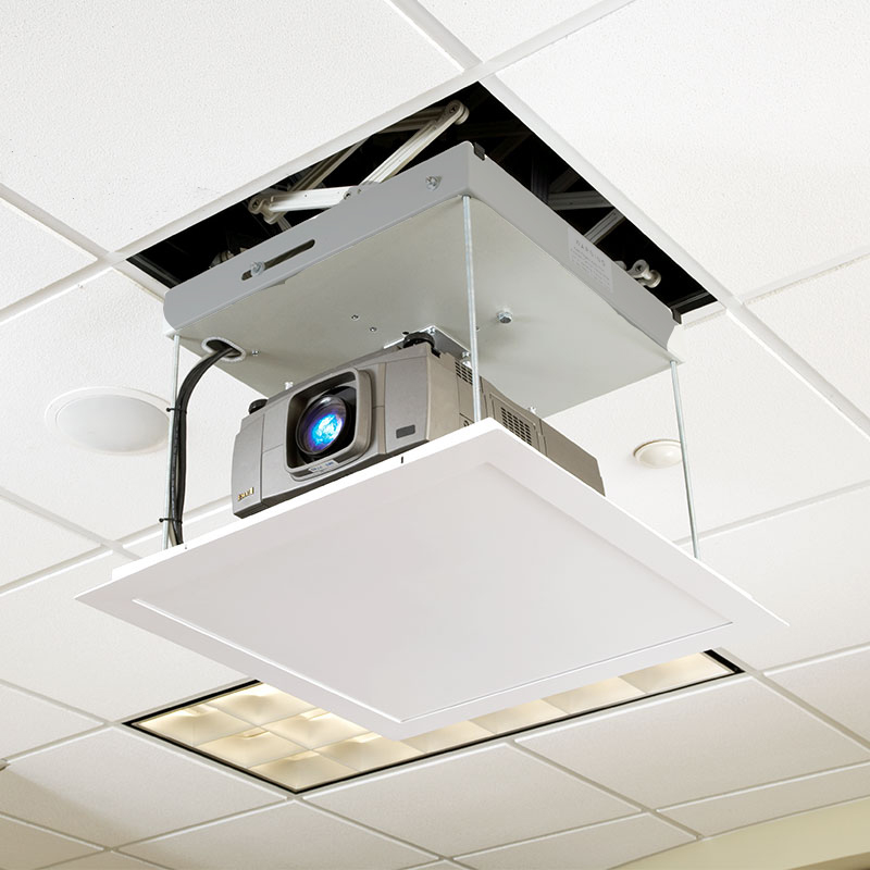 Projector ceiling lifts for Micro video projector