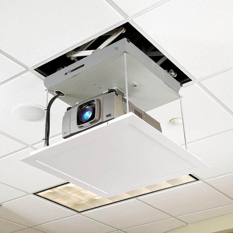 f5136f61c3de22 Projector Lifts :: Draper, Inc.