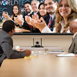 Video Conferencing Camera Lift - Credenza