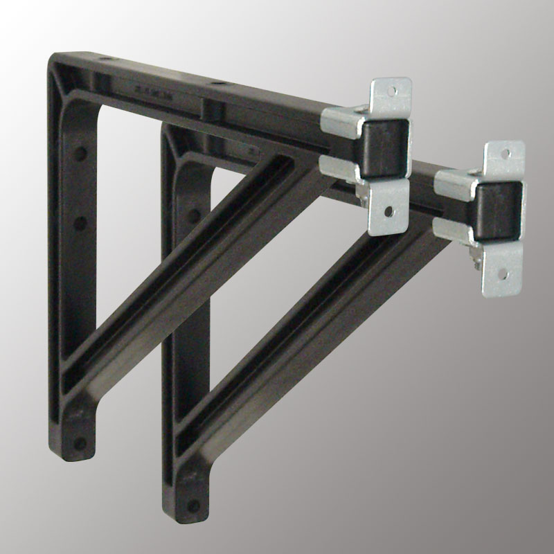 10 or 14 in Extension Brackets (Silhouette-Black)