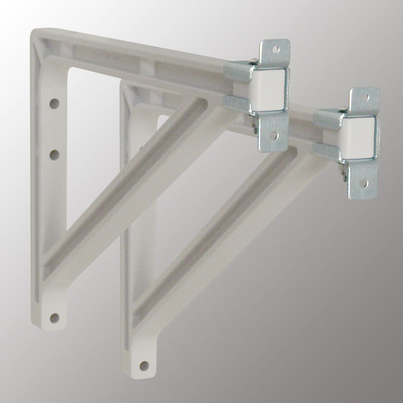 10 or 14 in Extension Brackets (Silhouette-White)
