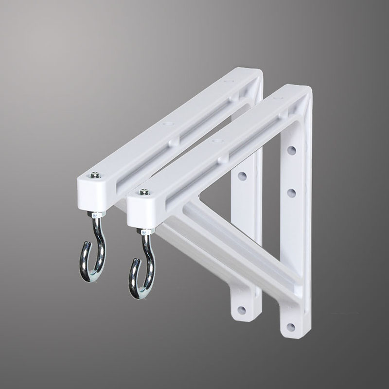 "10"" or 14"" (25 cm or 36 cm) White Wall Brackets"