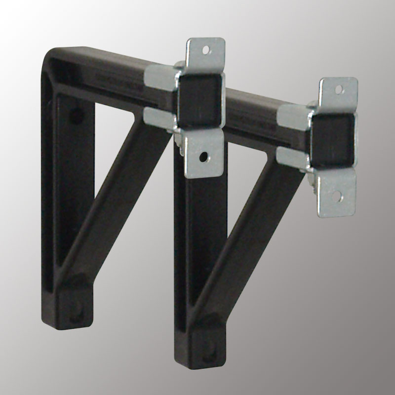 6 in Exentsion Brackets (Silhouette-Black)
