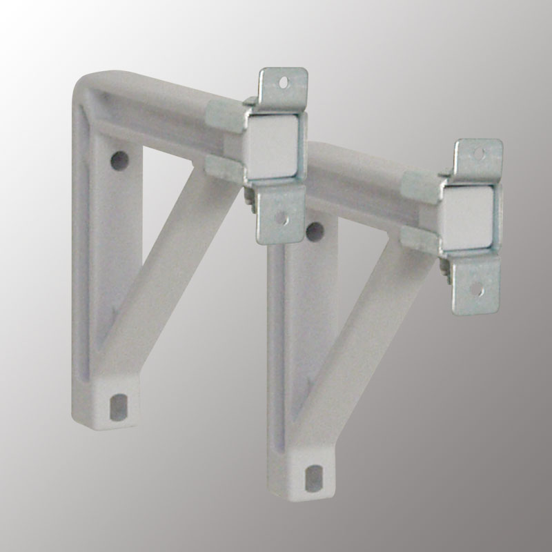 6 in Extension Brackets (Silhouette-White)