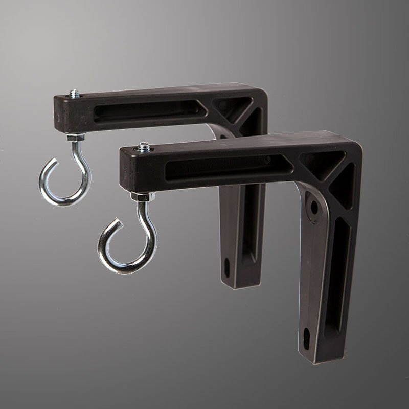 6 in (152mm) Wall Brackets (Black)