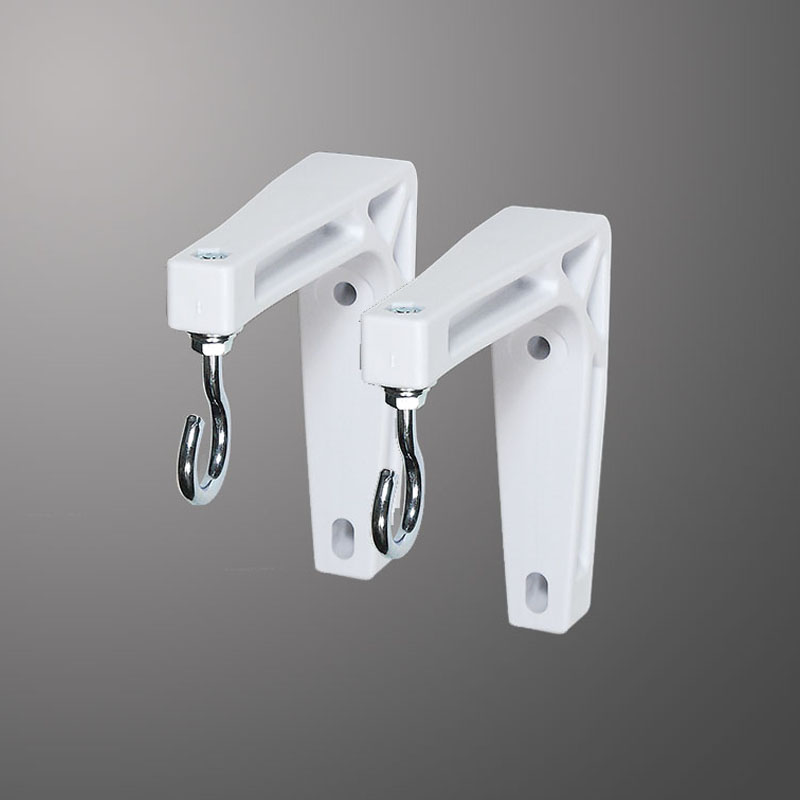 6 in Wall Brackets (White)