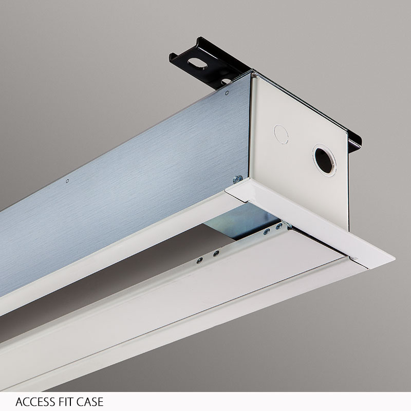 Captivating The Access FIT M With AR, Ceiling Recessed, Manually Operated Projection  Screenu0027s Slim Case Design Provides Easier Installation In Tight Ceiling  Spaces.