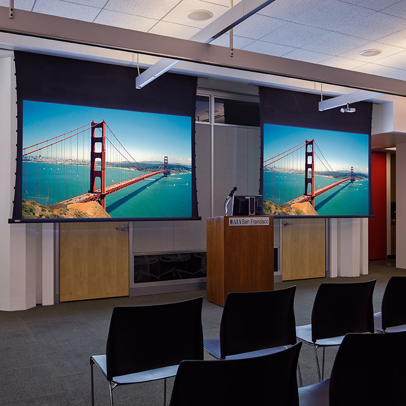 Access V Electric Projection Screen