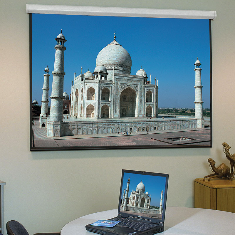 "Draper - Baronet/Series HW - Electric - 234cm x 175cm - 120"" Diag - 4:3 - Matt White XT1000E - Hard Wired - Electric Projector Screen"