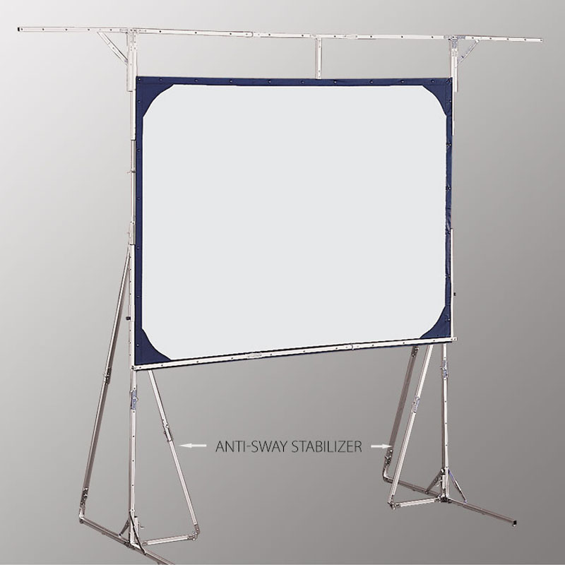 The Economical, Versatile Cinefold Portable Projection Screen Requires No  Tools For Set Up, Making It Ideal For Trainers, Presenters, Or Anyone On  The Road.