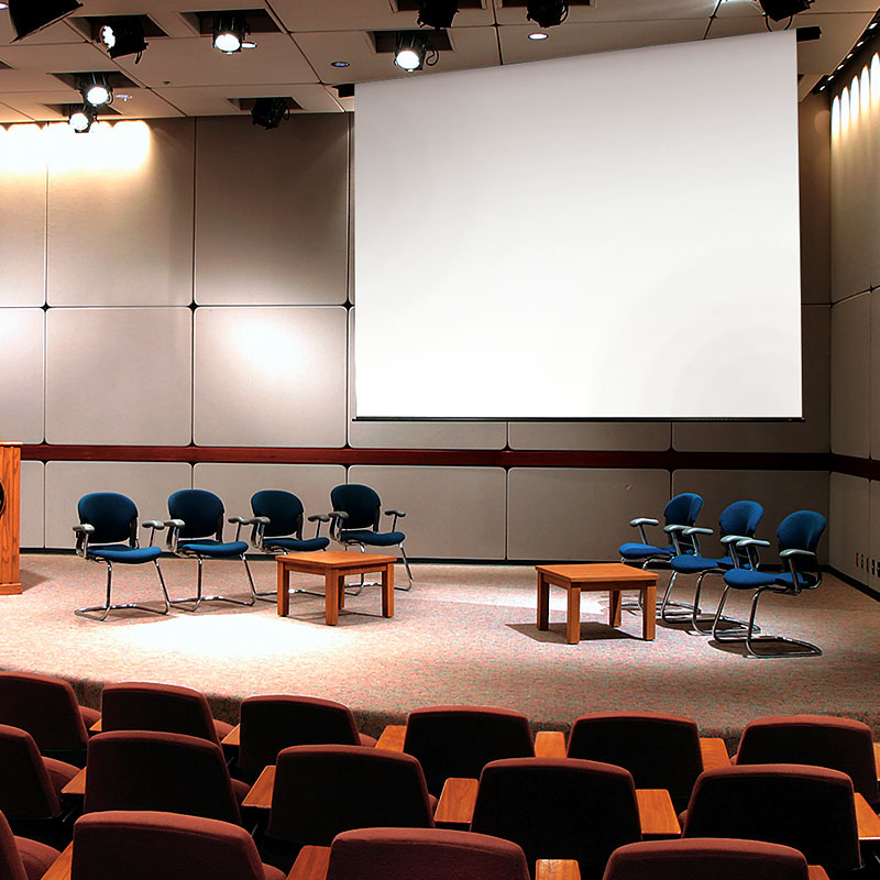 Exceptionnel This Low Cost, Ceiling Recessed, Electric Projection Screen Provides A  Clean Appearance When Fully Retracted Making The Envoy Perfect For Meeting  Rooms, ...