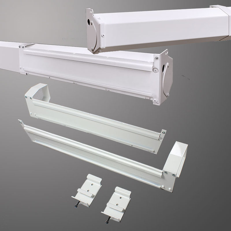 Floating Screen Bracket (White)