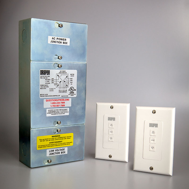 Low Voltage Control with 2 Switches LVC-IV, 2 LVC-S