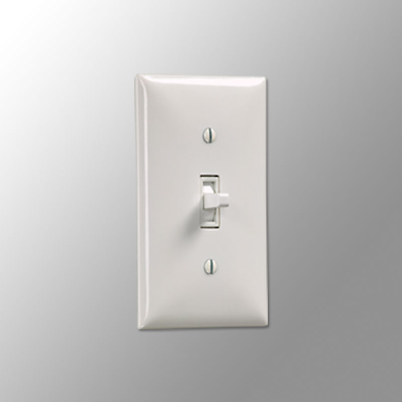 Wall Switch SS-1R (White)