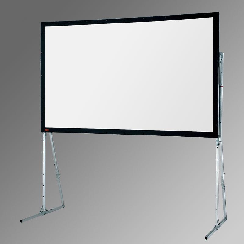 Ultimate Folding Screen + Heavy-Duty Legs - 484cm x 271cm - 16:9 - Matt White XT1000V Fabric - Front Projection Complete
