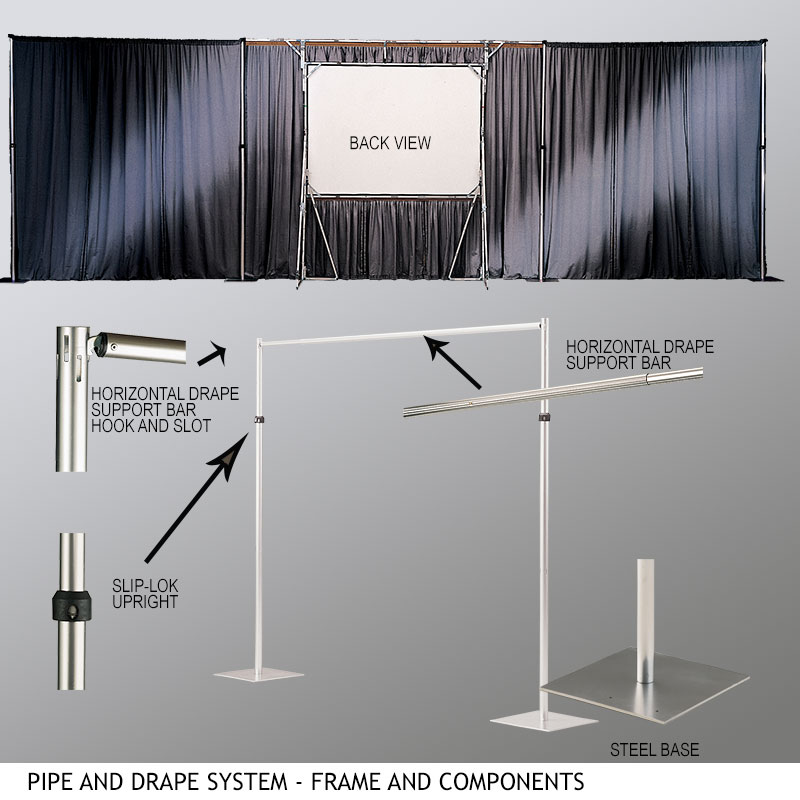Specifically Designed For Use With Draper Folding Screens.