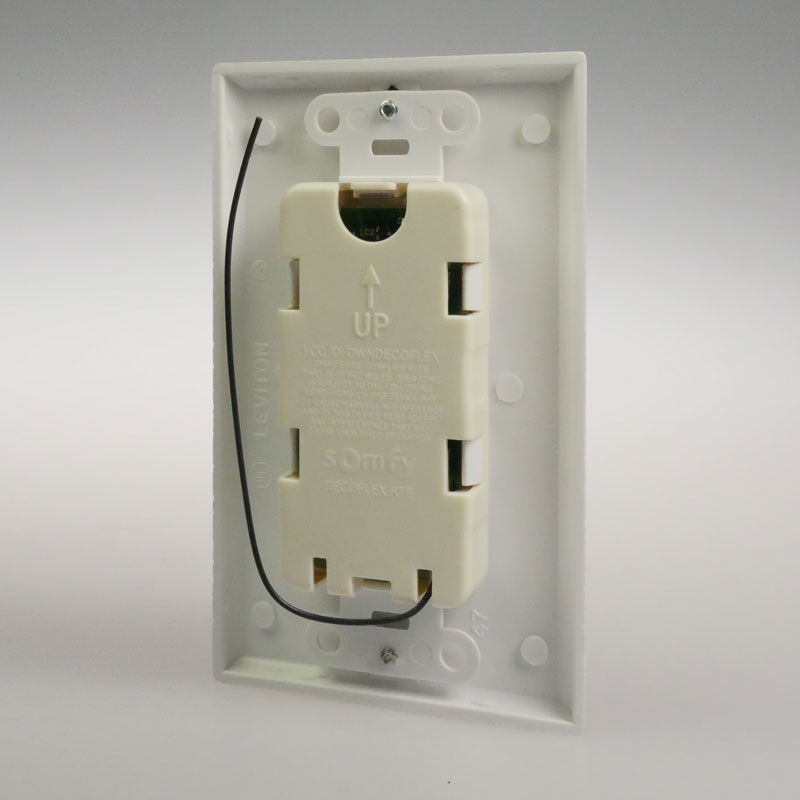 Decora RTS 1-5 Channel Wall Switch Kit (White or Ivory