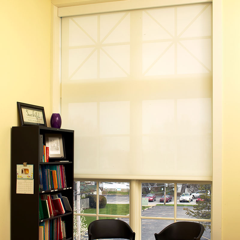 Motorized roller shades draper inc Motorized window shades cost