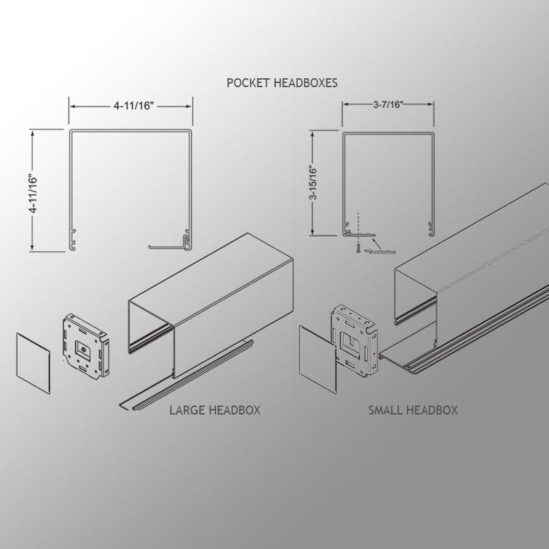 Pocket Style Headbox Draper Inc