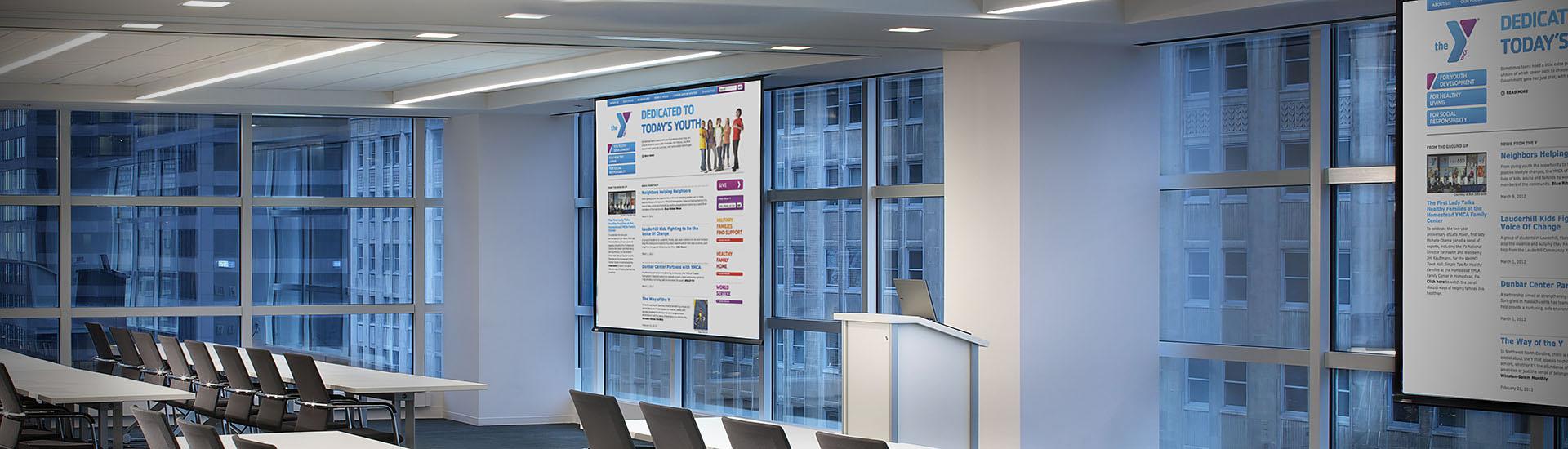 Projection Screens :: Draper, Inc